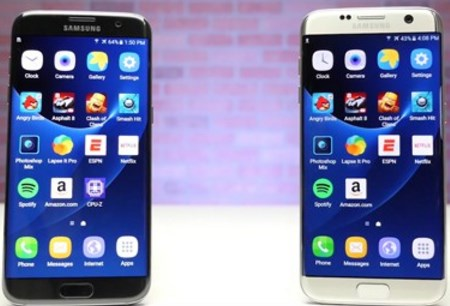 Samsung Galaxy S7 на Exynos работает производительнее, чем смартфон на процессоре от Qualcomm
