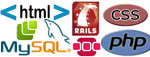 Шпаргалки и учебники по HTML, CSS, Ruby on rails, PHP, JavaScript