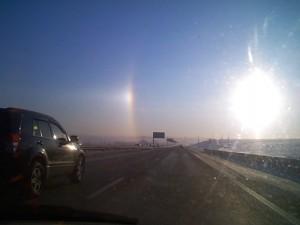 Дорога в Москву